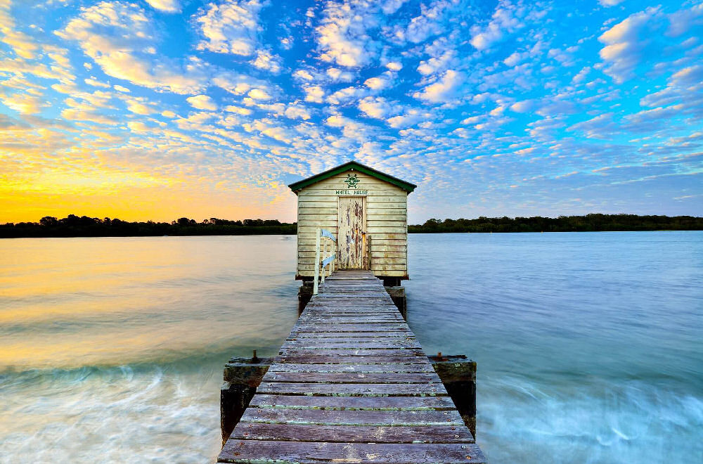 Boathouse on the Maroochy River