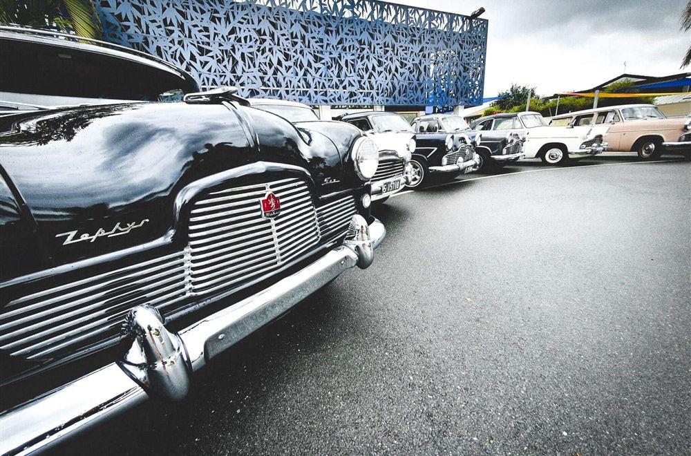 Zephyr Car Club Meeting at Alex Beach Cabins